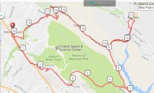 Wednesday Ride - Standard Loop